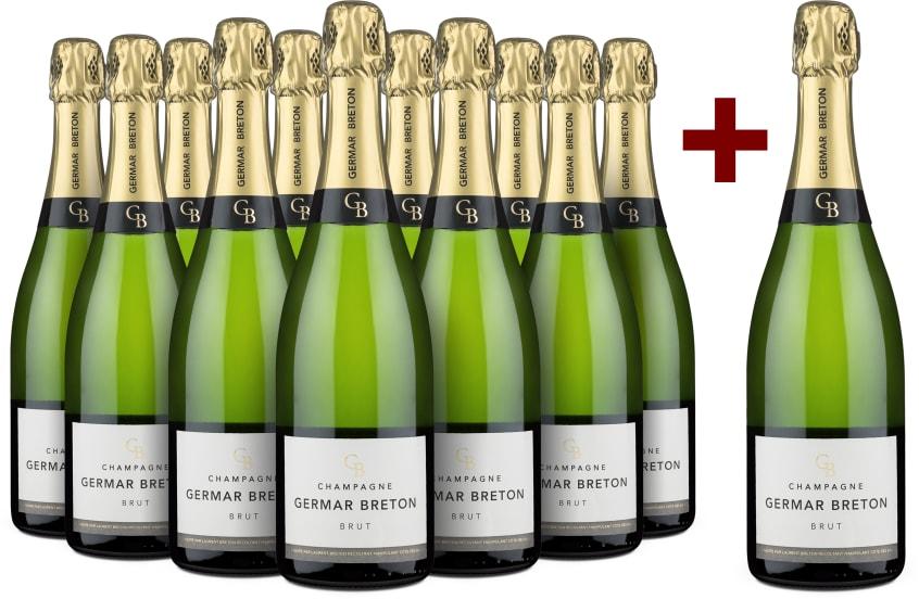 11+1-Set Champagne Germar Breton 'GB' Brut
