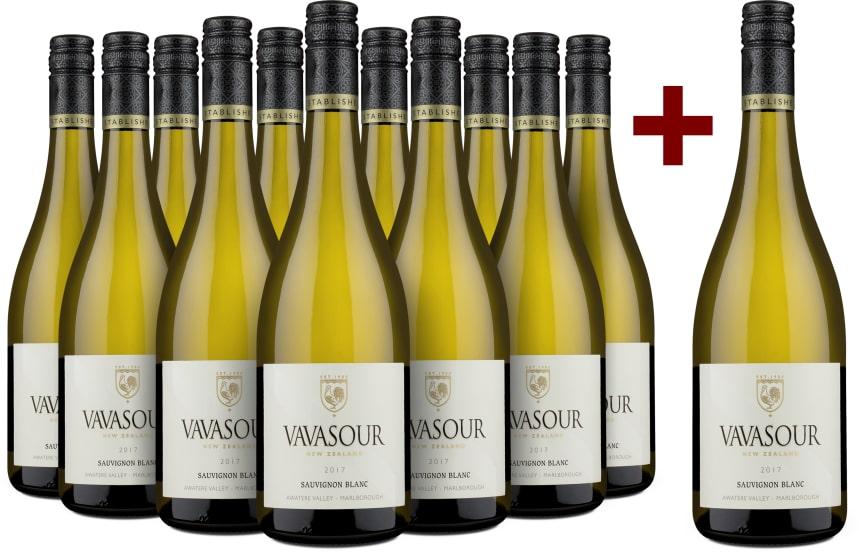 11+1-Set Vavasour Sauvignon Blanc Awatere Valley Marlborough 2017