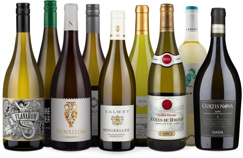 Wine in Black '9er-Weißwein-Favoriten'-Set 2018