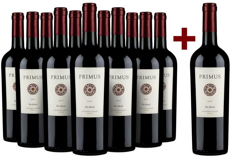 11+1-Set Veramonte Primus Wines 'The Blend' Chile 2015