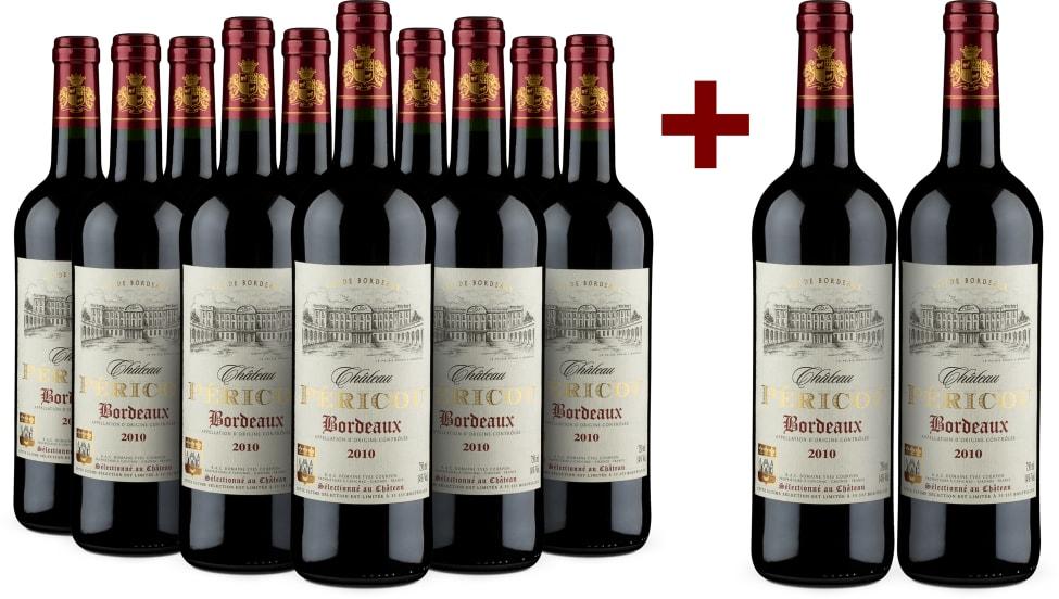 '12 halen, 10 betalen' 'Grand Vin de Bordeaux' 2010