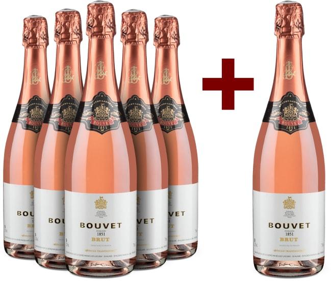 5+1-Set '1851' Méthode Traditionnelle Rosé Brut