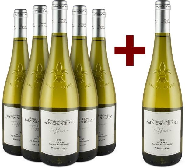 Offre 5+1 Sauvignon Blanc 'Tuffeau' Touraine 2018
