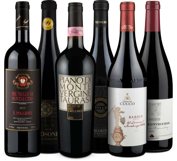 Wine in Black 'Platino d'Italia'-Set