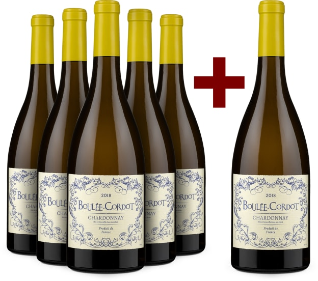 5+1-Set Chardonnay 'Boulée-Cordot' 2018