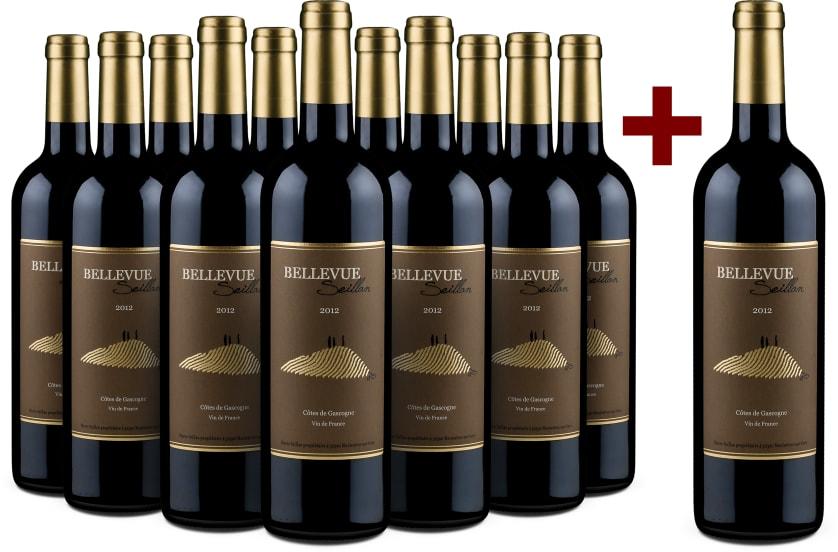'12 halen, 11 betalen' pakket Pierre Seillan 'Bellevue Seillan' 2012