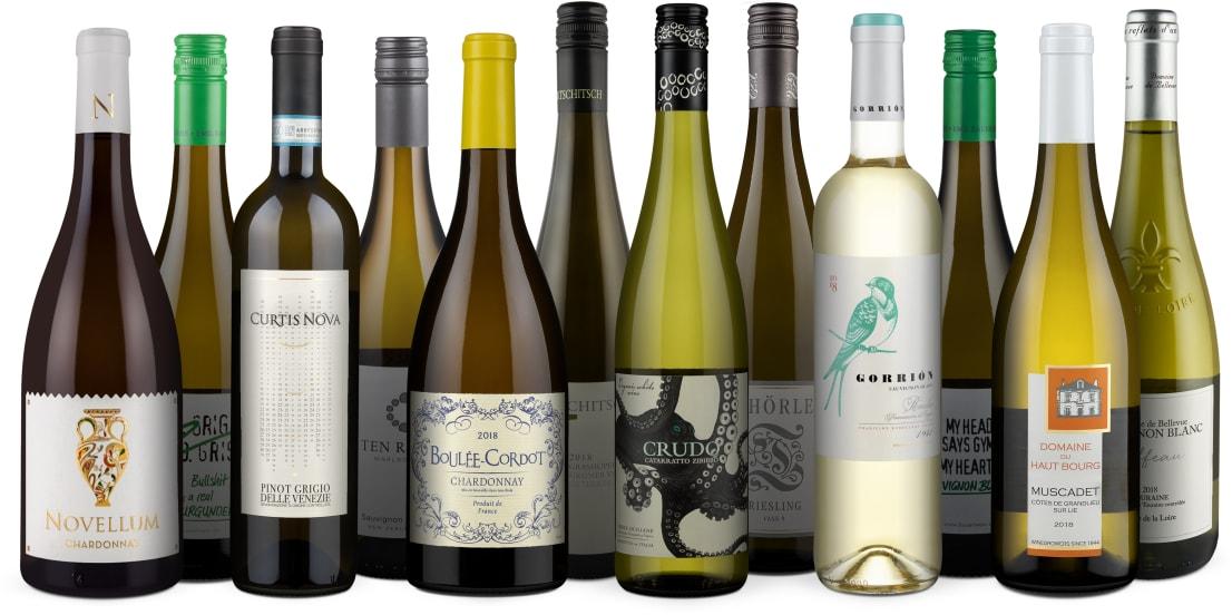 '12x Witte Wijn Bestseller' pakket