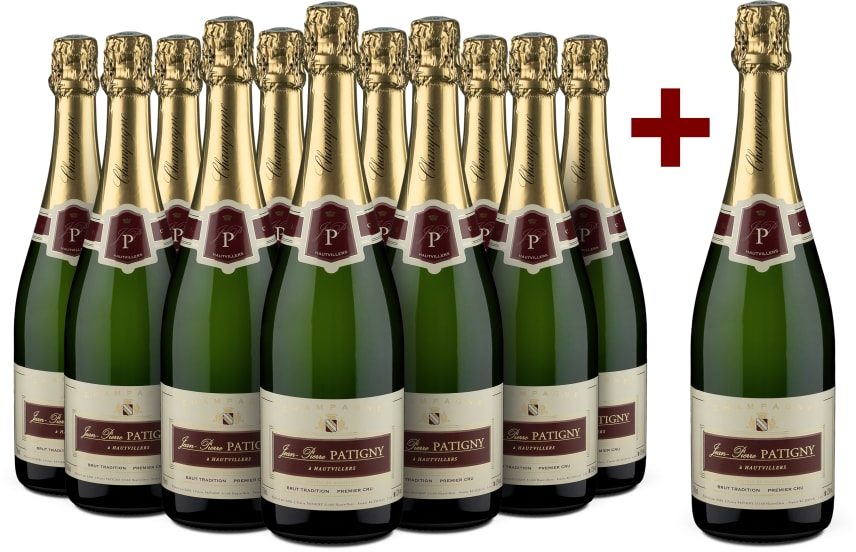 11+1-Set 'Brut Tradition' Premier Cru