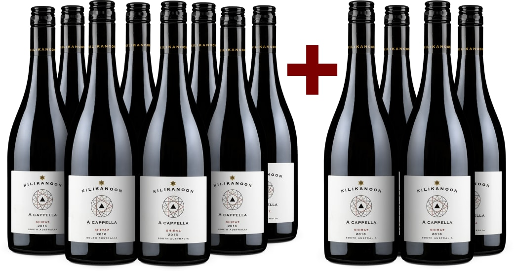 8+4-Set Shiraz 'A cappella' 2016