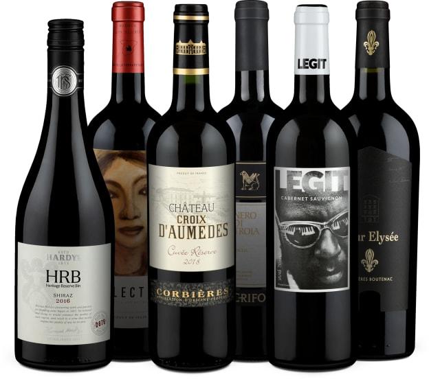 Wine in Black '55 % Super-Saving'-Set