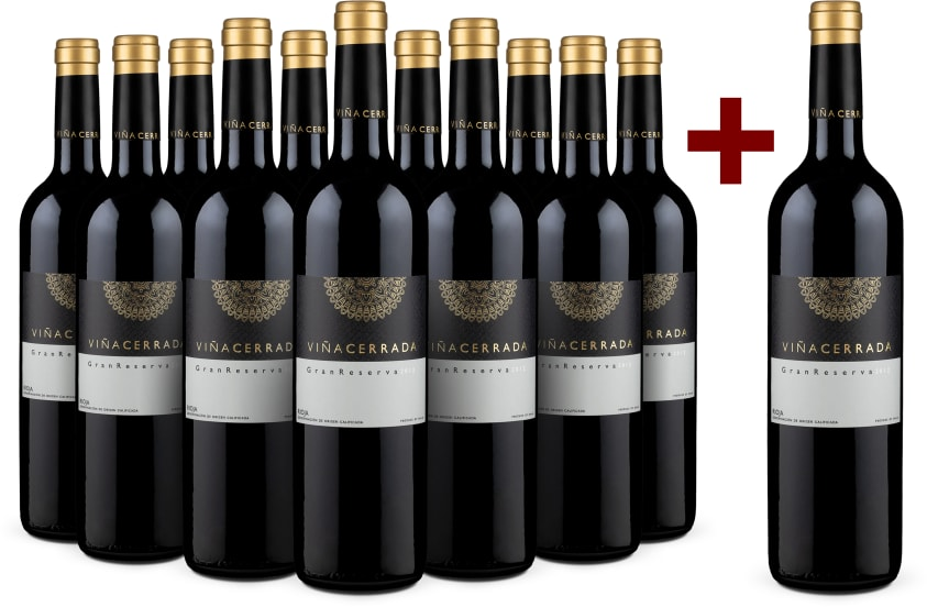11+1-Set 'Viña Cerrada' Rioja Gran Reserva 2012