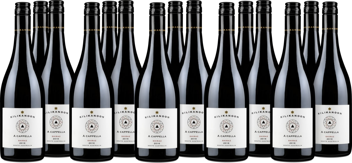 15er-Set Shiraz 'A cappella' 2016