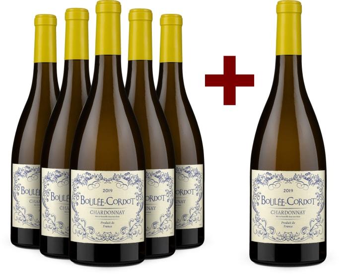 5+1-Set Chardonnay 'Boulée-Cordot' 2019