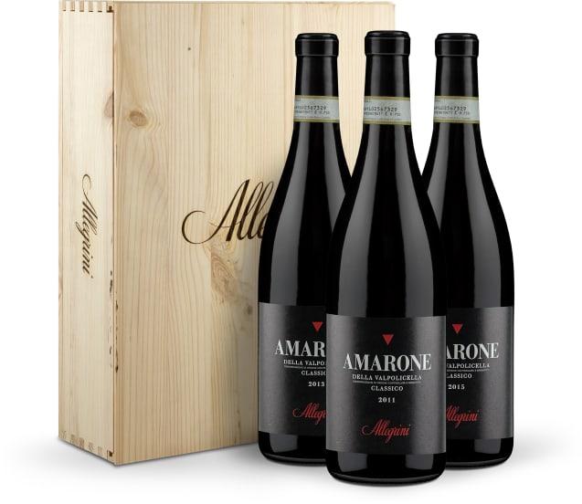 3er-OHK Amarone della Valpolicella Classico Vertikale 11-13-15