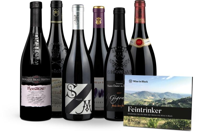 Wine in Black 'Tasting-Set Rhône'