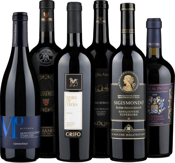 Wine in Black 'Pizza, Pasta & Amore'-Set