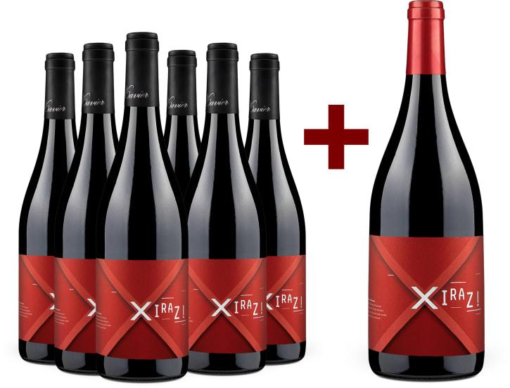 6 Flaschen Syrah 'Xiraz!' 2018 + 1 Gratis-Magnum 2015