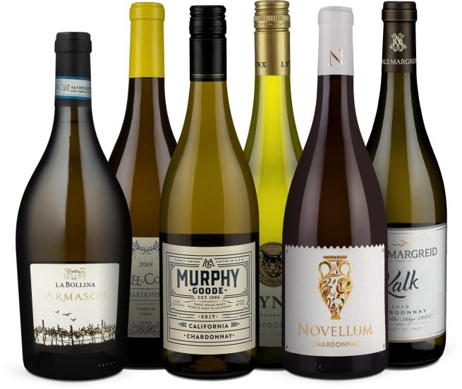 Wine in Black 'Charming-Chardonnay'-Set