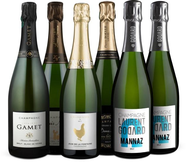 Wine in Black 'Champagner-Entdecker'-Set