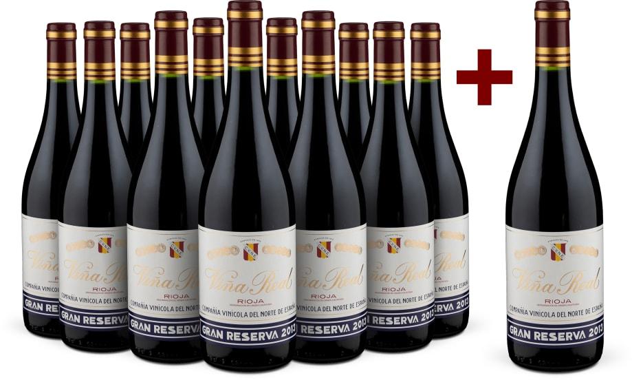 11+1-Set Rioja Gran Reserva 'Viña Real' 2013