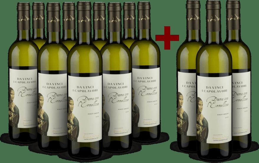 9+3-Set Pinot Grigio 'Dama con l'Ermellino' 2020