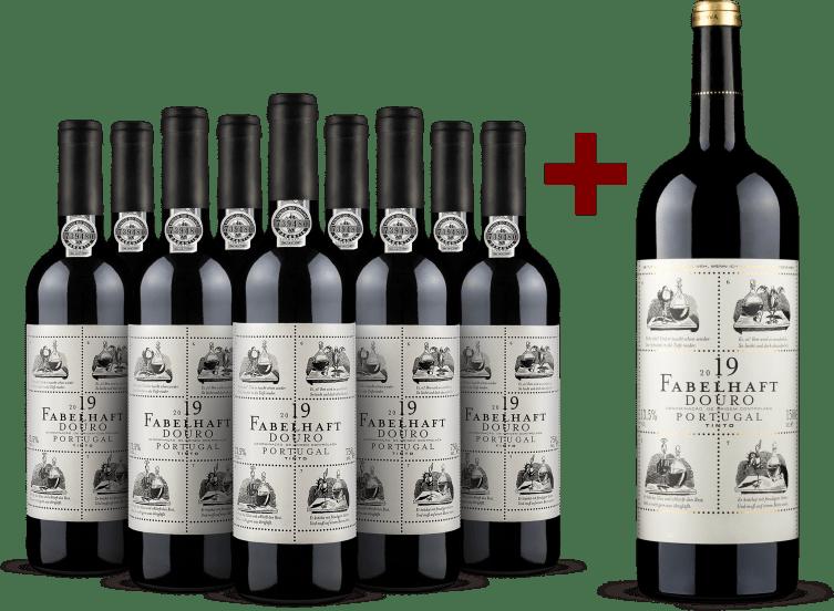 Offre 9 bouteilles 'Fabelhaft' Douro 2019 + 1 magnum offert