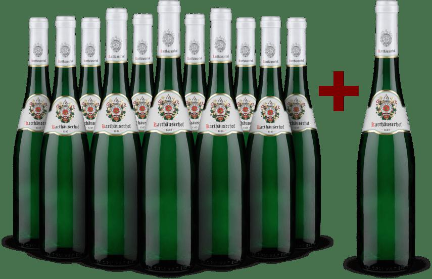 '12 halen, 11 betalen' pakket 'Waldracher Monopol L' Riesling 2020