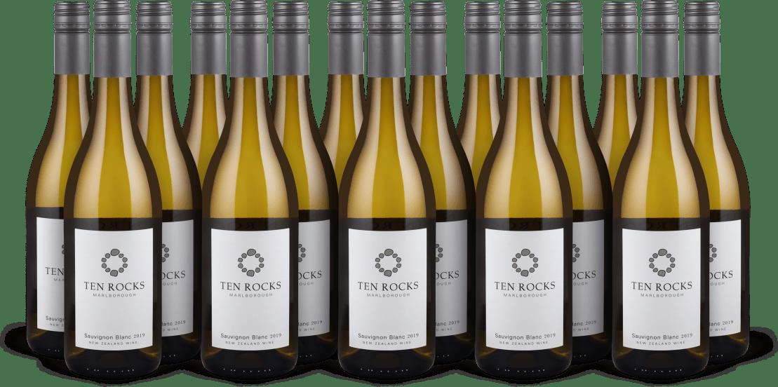 15er-Set 'Ten Rocks' Sauvignon Blanc Marlborough 2019
