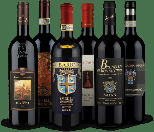 Wine in Black 'Outstanding Brunello di Montalcino'-Set