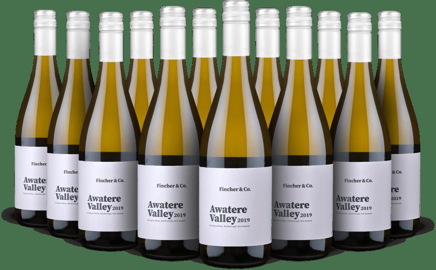 Offre 12 bouteilles Sauvignon Blanc Awatere Valley Marlborough2019