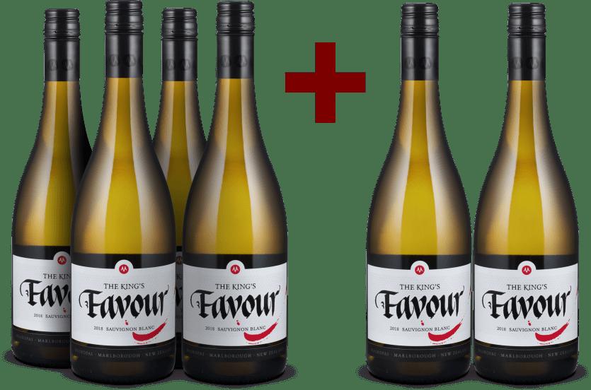 4+2-Set Sauvignon Blanc 'The King's Favour' Marlborough 2018