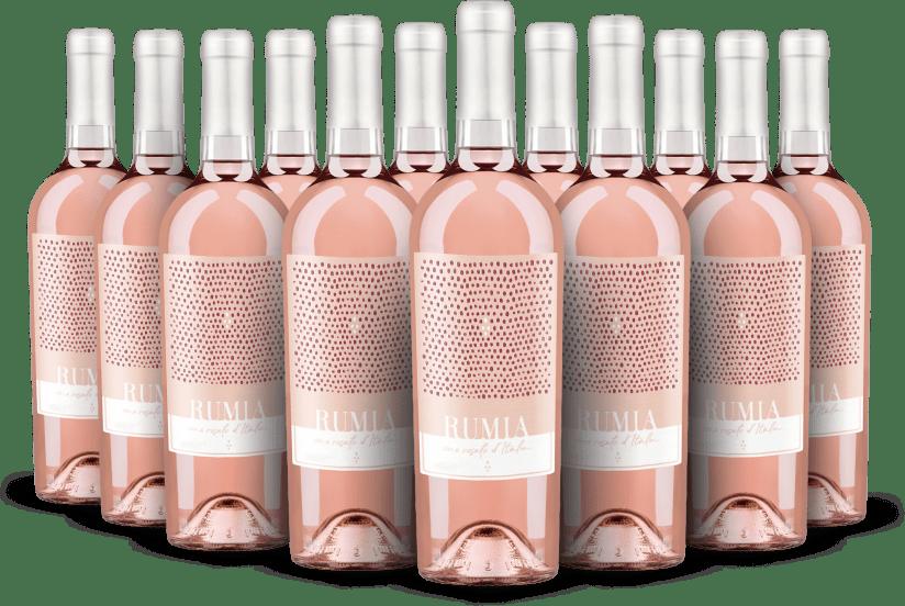 '12 flessen pakket' Vino Rosato d'Italia 'Rumia' 2020