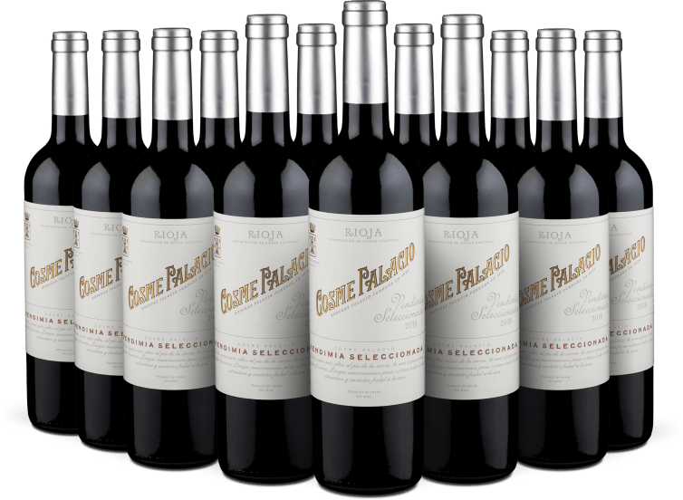 12er-Set 'Cosme Palacio' Rioja Vendimia Seleccionada 2018