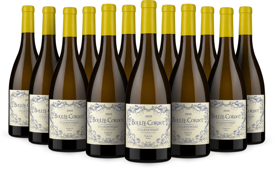 12er-Set Chardonnay 'Boulée-Cordot' 2020