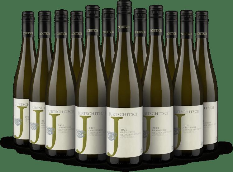 Offre 12 bouteilles Grüner Veltliner 'Grashüpfer' 2020 - Bio