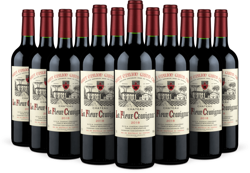 '12 flessen pakket' Saint-Émilion Grand Cru 2018