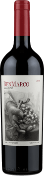 Susana Balbo - BenMarco Malbec Valle de Uco Mendoza 2016