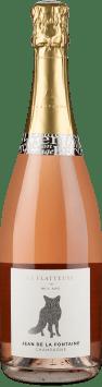 Champagne Jean de La Fontaine 'La Flatteuse' Rosé Brut