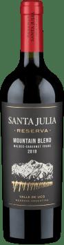 Santa Julia 'Mountain Blend' Reserva Malbec Cabernet Franc Valle de Uco 2018