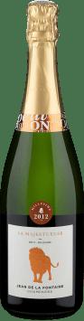 Champagne Jean de La Fontaine 'La Majestueuse' Brut Millésime 2012