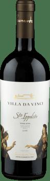 Cantine Leonardo da Vinci 'Villa da Vinci Santo Ippolito' Rosso Toscana 2018