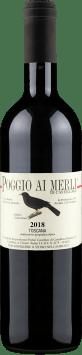 Castellare di Castellina Merlot 'Poggio ai Merli' Toscana 2018