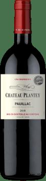 Château Plantey Cru Bourgeois Pauillac 2018