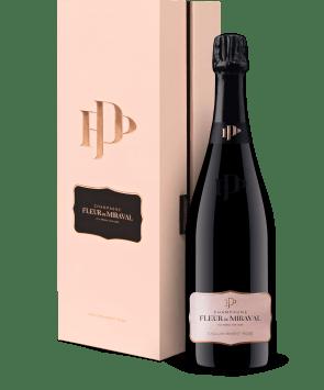 Champagne Fleur de Miraval 'Edition ER1' Mesnil sur Oger NV - mit Geschenkbox