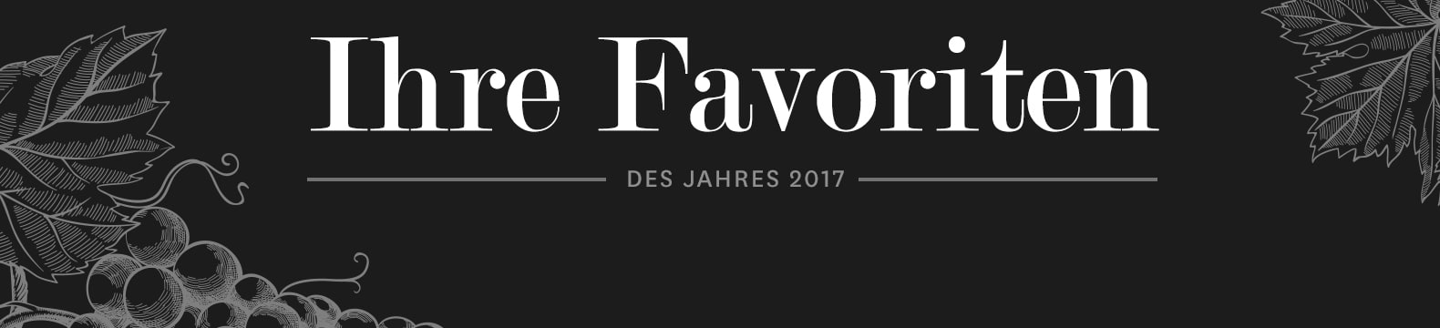 Ihre Favoriten 2017