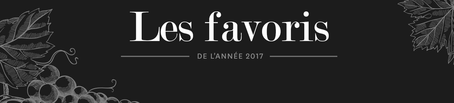 Les Favoris de 2017