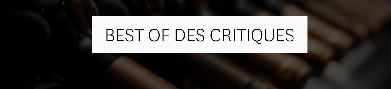 Best of des critiques