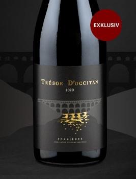 Exklusiv bei Wine in Black: 'Trésor d'Occitan' Corbières 2020