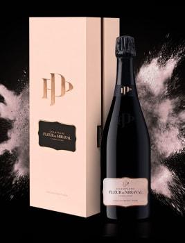Champagne Fleur de Miraval 'Edition ER1' Mesnil sur Ogier NV - mit Geschenkbox