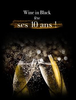 Offre 'Anniversaire Wine in Black' à prix avantageux